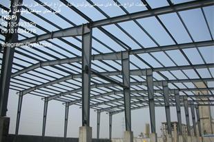 اجرای سقف عرشه فولادی با پوشش ساندویچ پانل