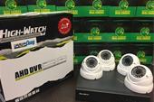 4عدد دوربین مداربسته فول اچ دی با نصب رایگان