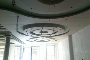 طراحی و اجرای سقف کاذب کناف و دکوراتیو