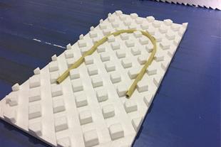 عایق پلاستوفوم - ورق گرمایش از کف - 3d پانل