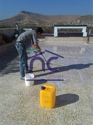 عایق روی دیوار و نما و سقف در مازندران - 1