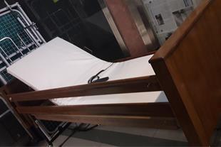 فروش تخت برقی بیمار خانگی چوبی