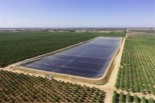 استخر ذخیره آب کشاورزی پلیمری ((ژئوممبران))
