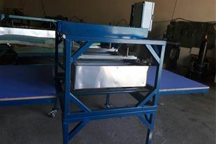دستگاه چاپ روی تیشرت پنوماتیک تک ریل سابلیمیشن