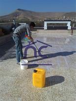 عایق روی دیوار و نما و سقف در مازندران