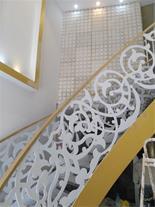 نرده پله فلزی cnc شده
