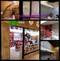 طراحی ، ساخت و اجرا ویترین و دکور فروشگاه و مغازه