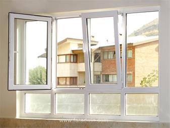 تولید پنجره های دو جداره Upvc در کمترین زمان با دس - 1