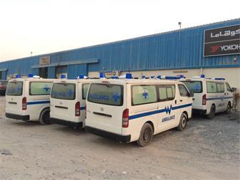 واردات تامین تجهیز آمبولانس آتش نشانی - 1