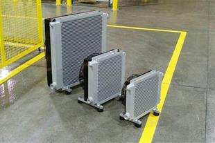 رادیاتور خنک کن روغن هیدرولیک ( هوا خنک فن دار )