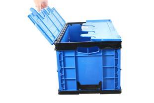 جعبه تاشو پلاستیکی درب دار(مدرن باکس)