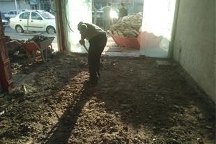 تخریب ساختمان و خرده کاری داخل وتغییرات