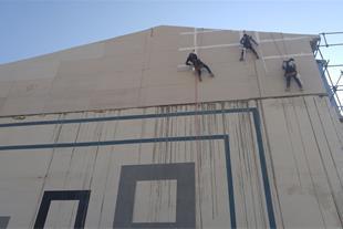کار در ارتفاع تخصصی بدون داربست در شیراز