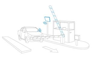 کنترل تردد مجتمع های مسکونی RFID