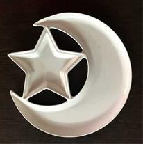 اردو خوری سرامیکی طرح ماه و ستاره