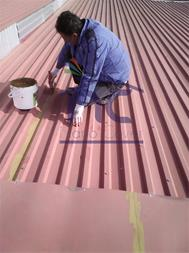 عایق رطوبتی حرارتی نانویی روی سقف ساختمان - 1