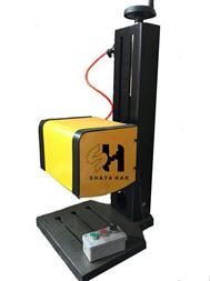 دستگاه حکاکی فلزات-دستگاه حک کوبشی-حک پلاک-تگ کابل - 1
