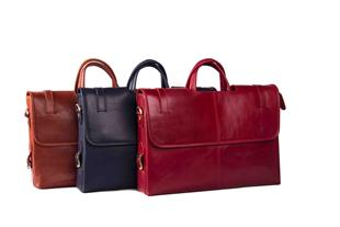 تولید انواع کیف های طرح چرم و چرم