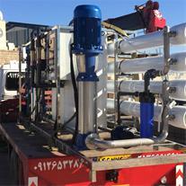 فروش ، طراح ، سازنده دستگاه آب شیرین کن صنعتی