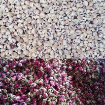 خشکبار غنچه گل محمدی صادراتی وانجیر