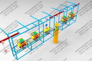 دستگاه تست هیدرواستاتیک مخازن CNG خودرویی