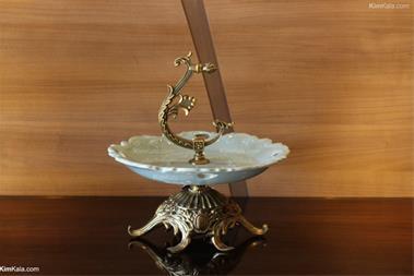 شیرینی خوری لوکس و سلطنتی هارپات آب طلا و دست ساز - 1