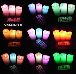 فروش شمع کنترلی چراغدار اصل - 1