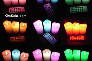 فروش شمع کنترلی چراغدار اصل