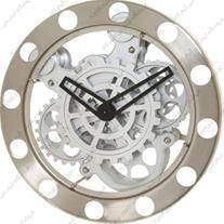 فروش ساعت دیواری بزرگ فلزی لوکس (طرح چرخ دنده)