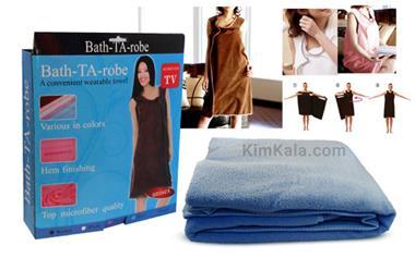 فروش بهترین و جدیدترین مدل حوله تن Bath Ta Robe - 1