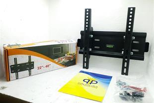 پایه تلویزیون براکت ثابت دیواری مدل Z3 تی وی جک TV