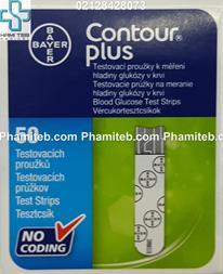 فروش نوار تست قند خون بایر مدل Contour Plus - 1