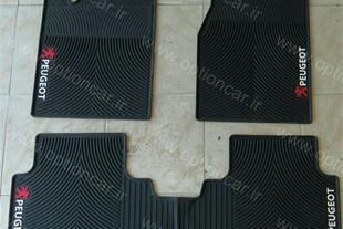 فرش کف پا پلاستیکی پژو 405 و پارس