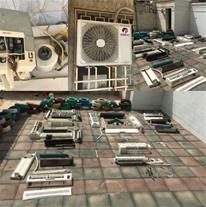 تعمیر کولردوتیکه کولر پنجره ای یخچال فریزر
