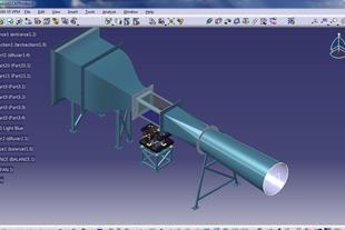 طراحی تونل باد با سرعت 0.3 ماخ