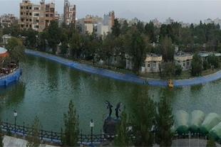 سویتهای تمام مبله کنار دریاچه ای بینظیر در اصفهان