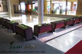 گلدان شهری - در فرودگاه مشهد ، تولید ترنج سبز