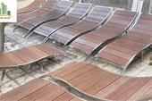 تخت استخری استیل - تولید صنایع ترنج سبز - مدل سانی