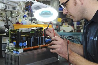 تعمیر انواع اینورتر توان بالا ال اس کره - 1