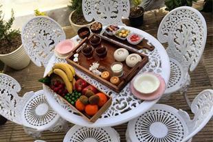 فروش سرویس نشیمن طاووسی با میز