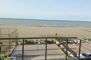 فروش اپارتمان ساحلی چسبیده به دریا در سرخرود