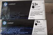 کارتریج لیزری سیاه سفید و رنگی پرینتر HP-CANON