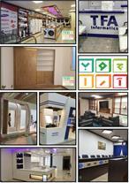 استودیو چوب آرا - پارتیشن و دکور اداری،دکور تجاری،
