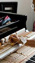 کوک و رگلاژ تخصصی پیانو آکوستیک