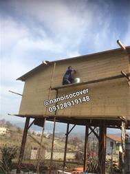 عایقکاری سقف و سازه چوبی و انواع روف گاردن - 1
