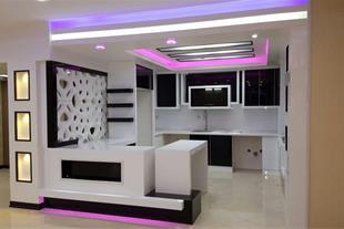 طراحی و اجرای انواع کابینت مدرن آشپزخانه دراصفهان