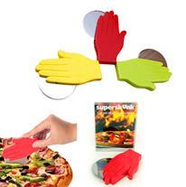 دست پیتزا بر