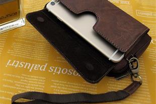 کیف پول و موبایل دستی و کمری