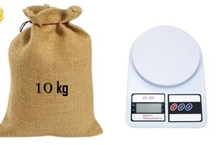 ترازو آشپزخانه SF400 اصل از 1 گرم تا 10 کیلوگرم