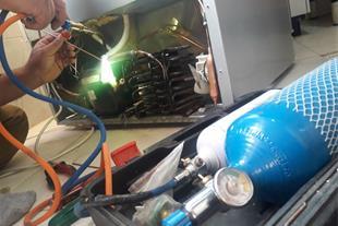 شارژگاز و تعمیر یخچال فریزر در محل . تبریز